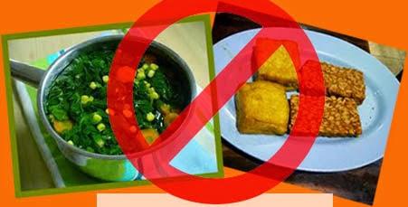 Inilah Daftar Makanan Yang Berbahaya Jika Dikonsumsi Bersamaan