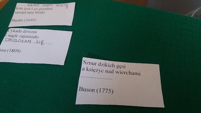 biblioteka z pasją, gdynia, haiku