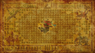ancient tapestry backround legend of zelda breath of the wild screenshot