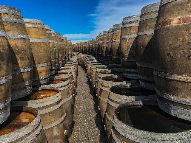 Rioja beczki od wina