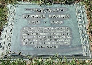 Carole Landis's Grave