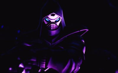 Fortnite Saison 8 - The Enforcer Dark - Fond d'écran en Ultra HD 4K 2160p