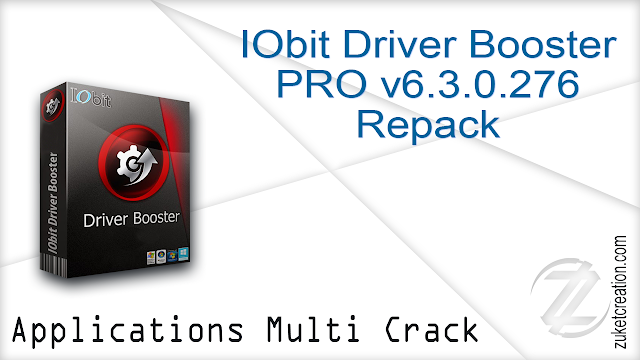IObit Driver Booster PRO v6.3.0.276 Repack