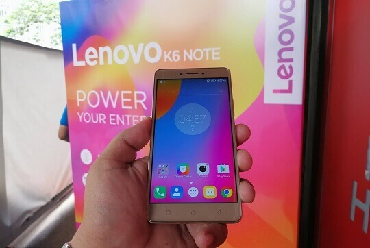 Lenovo K6 Note Now in the Philippines for Php11,999; Octa Core w/ 4000mAh Battery