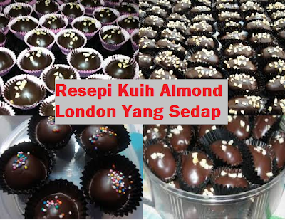 resepi almond london