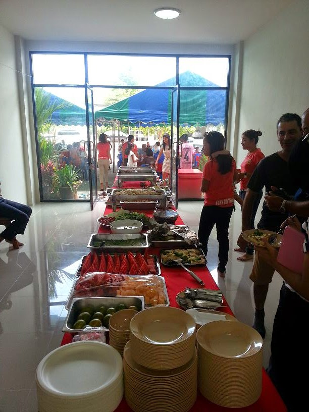 Buffet Lunch for the guests