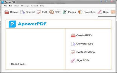 Apowersoft ApowerPDF 3.3.1.1215 F.u.l.l - Chỉnh sửa PDF tuyệt vời