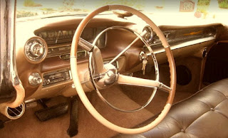 1959 Cadillac Fleetwood Brougham Limousine Dashboard
