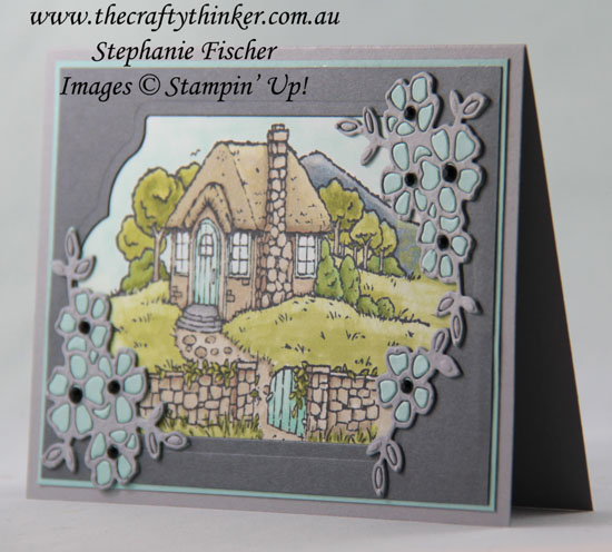 #thecraftythinker, #stampinup, #cardmaking, #sneakpeek, Sneak Peek Occasions 2018, Cozy Cottage, Petals & More, Stampin' Blends, Stampin' Up Australia Demonstrator, Stephanie Fischer, Sydney NSW