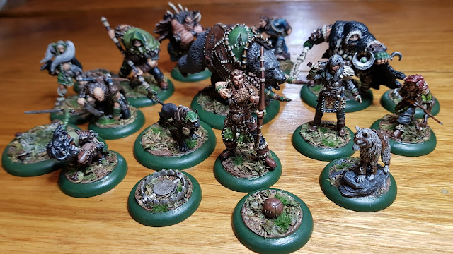 Random Nerdery - Guild Ball - Hunters team