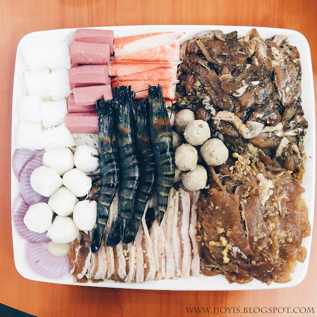 meat seafood dish for mookata chokchai sg
