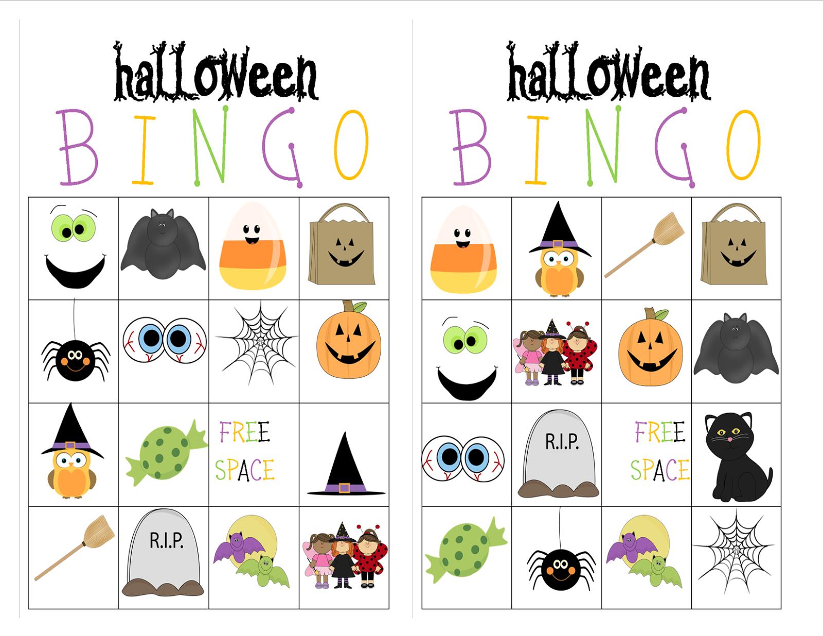 Schön Kostenlose Halloween Bingo Druckbare 2 Bilder - Malvorlagen ...