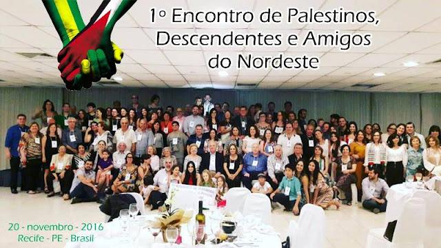 Encotnro dos Palestinos do Nordeste
