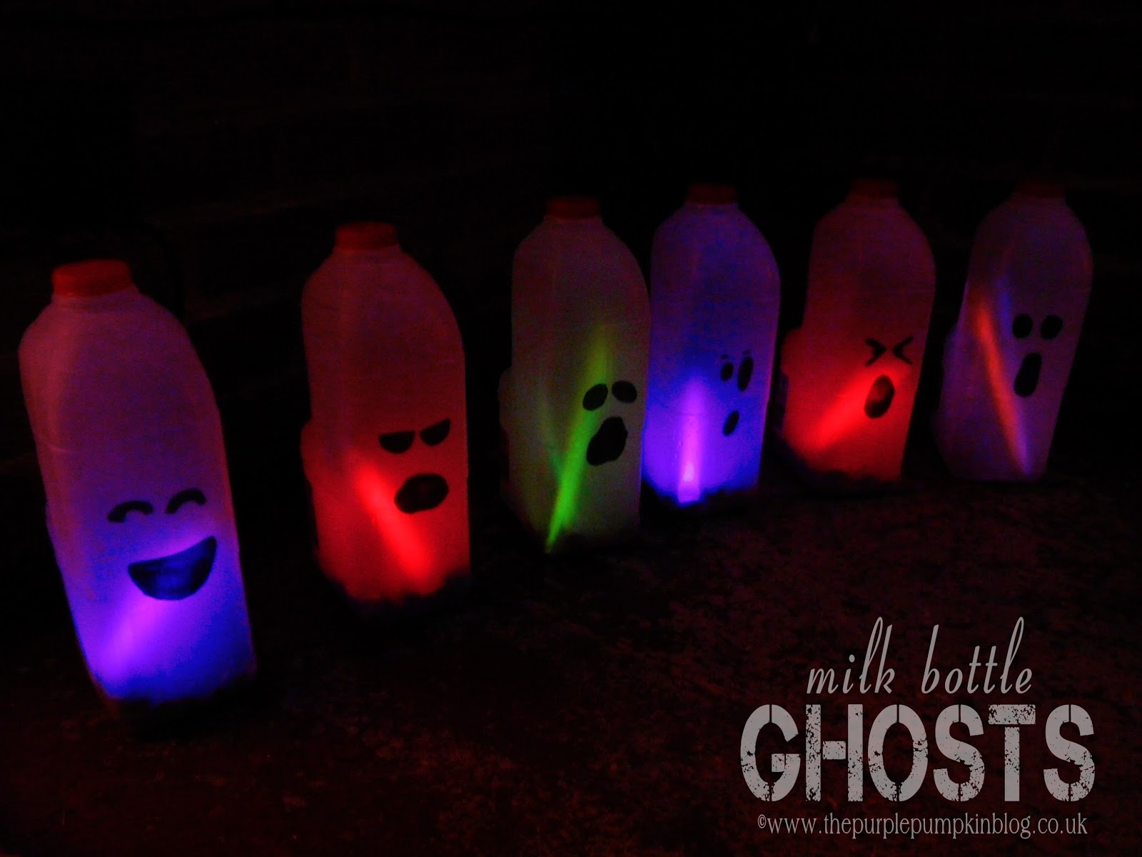 ghost hunting theories: glow sticks halloween crafts