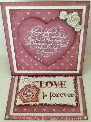 love verse - wedding verse stamp - forever love - visible image