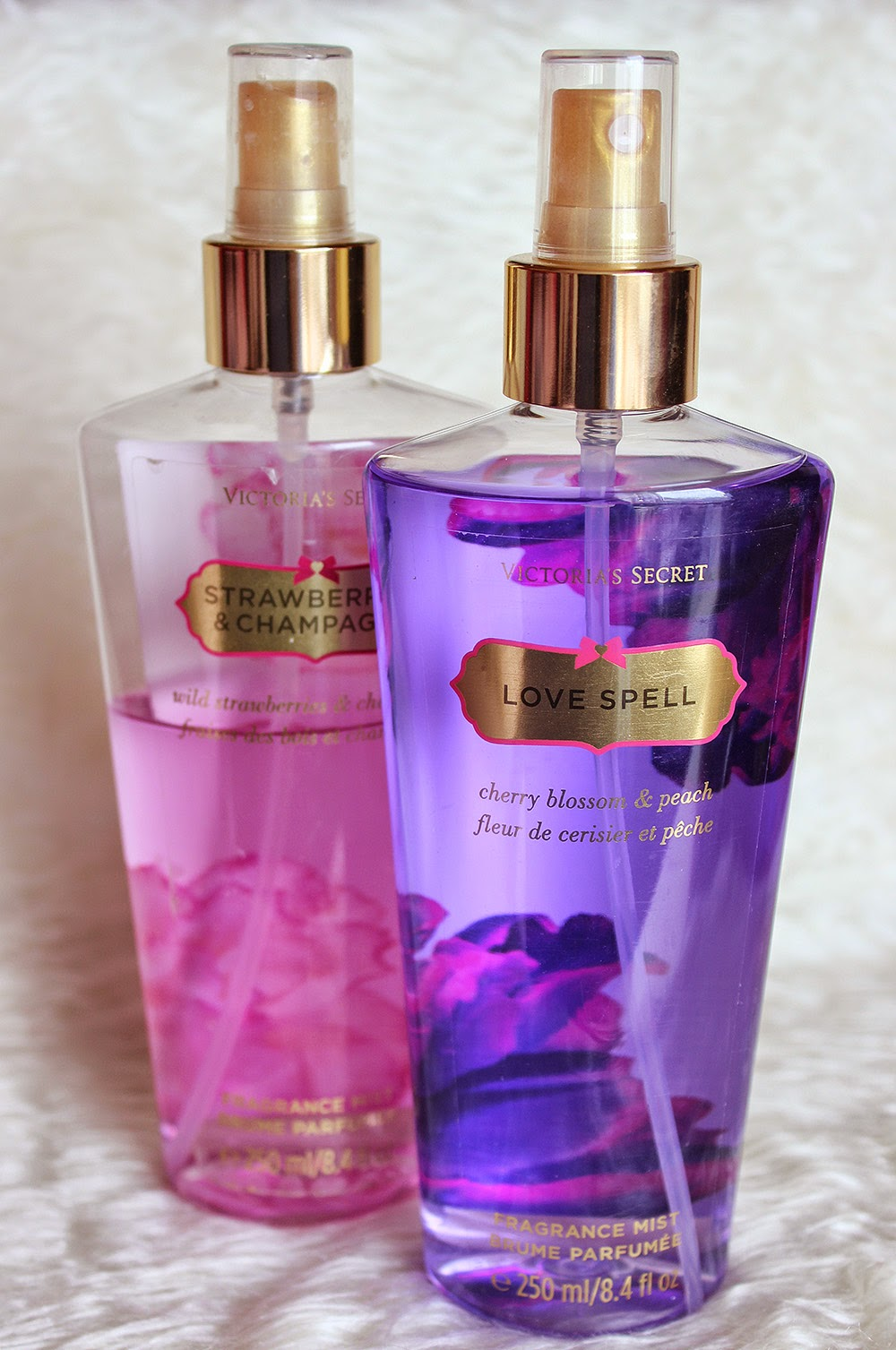 victoria's secret tělový sprej love spell recenze || review victoria's secret body spray