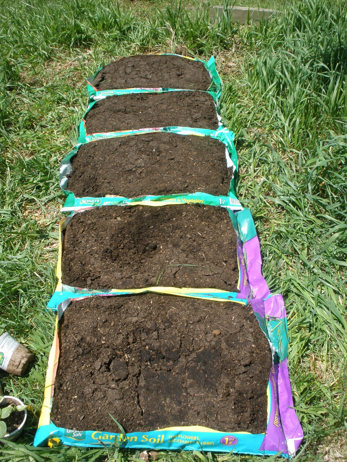 Raised Vegetable Garden Dirt