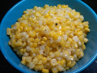 Yummy fried corn