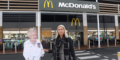 queen Elizabeth Owns Mcdonal's Franchise In london