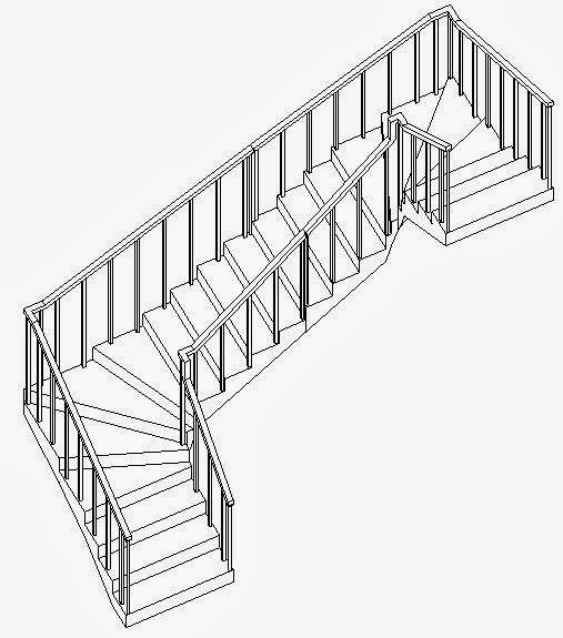 Revitcat U Shaped Winder Stairs In Revit