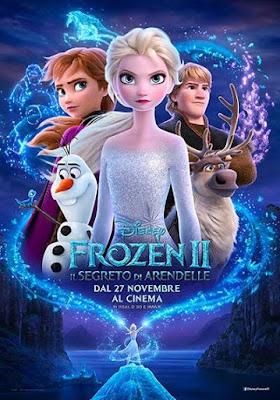 Frozen II - Il segreto di Arendelle - locandina