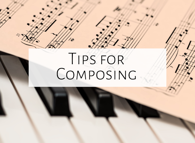 Tips for composing in the music room
