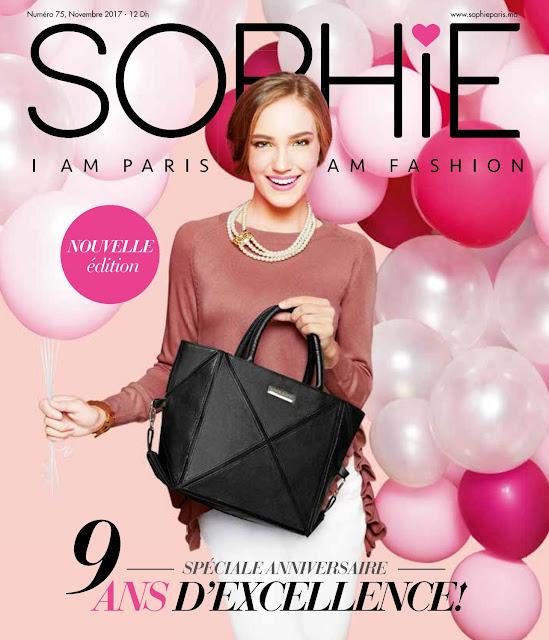 catalogue sophie paris maroc novembre 2017