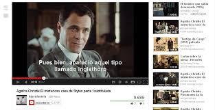 video subtitulado de You Tube