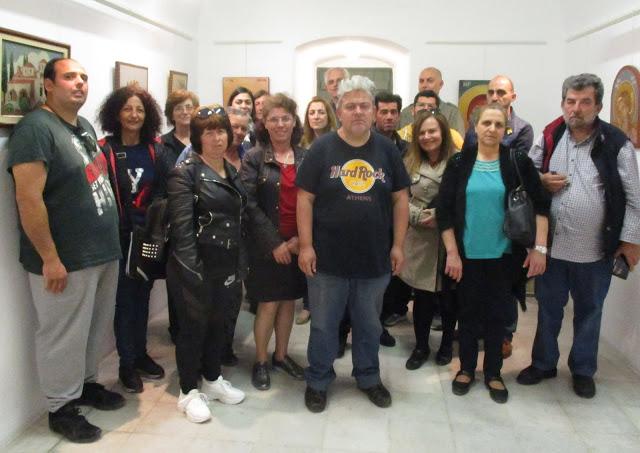 Εξαιρετική η έκθεση ψηφιδωτού και αγιογραφίας στο Ναύπλιο
