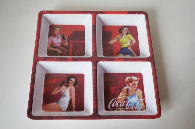 petisqueira coca-cola retrô - loja Dellabino