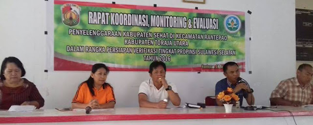 Segera Dinilai Provinsi, FKS Toraja Utara Gelar Evaluasi
