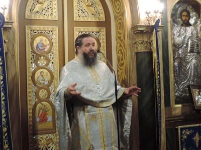 Ομιλία του πατρός Γεωργίου Σχοινά στον Παλαιό Ταξιάρχη Περιστερίου