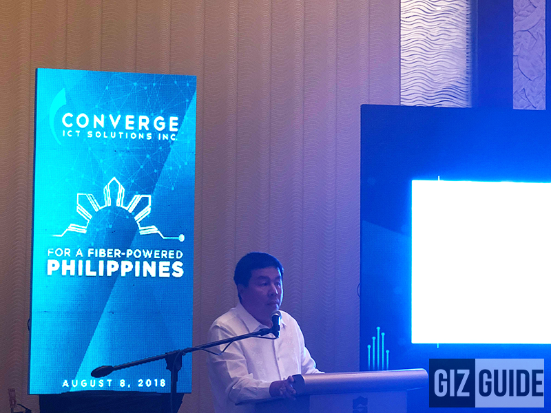 Converge fast tracks its FIBR rollout nationwide, targets to complete by 2021