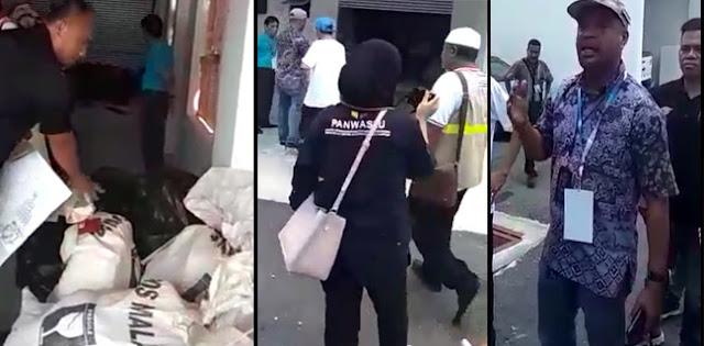 BPN Sampai Malu Melihat Video Surat Suara Tercoblos, Polisi Malaysia Hadir di TKP