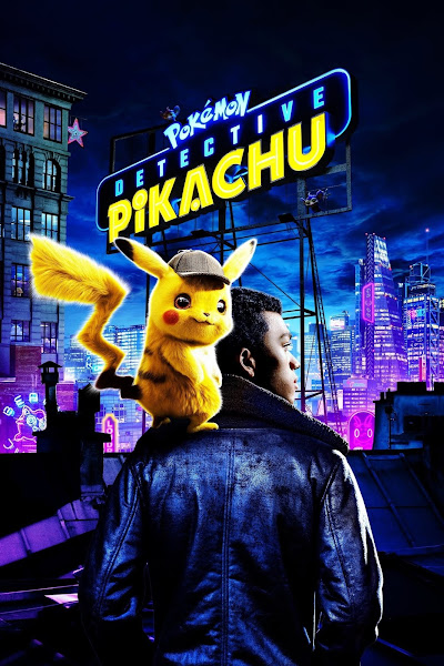 Poster of Pokémon Detective Pikachu (2019) Dual Audio [Hindi-Cleaned] 720p BluRay ESubs Download