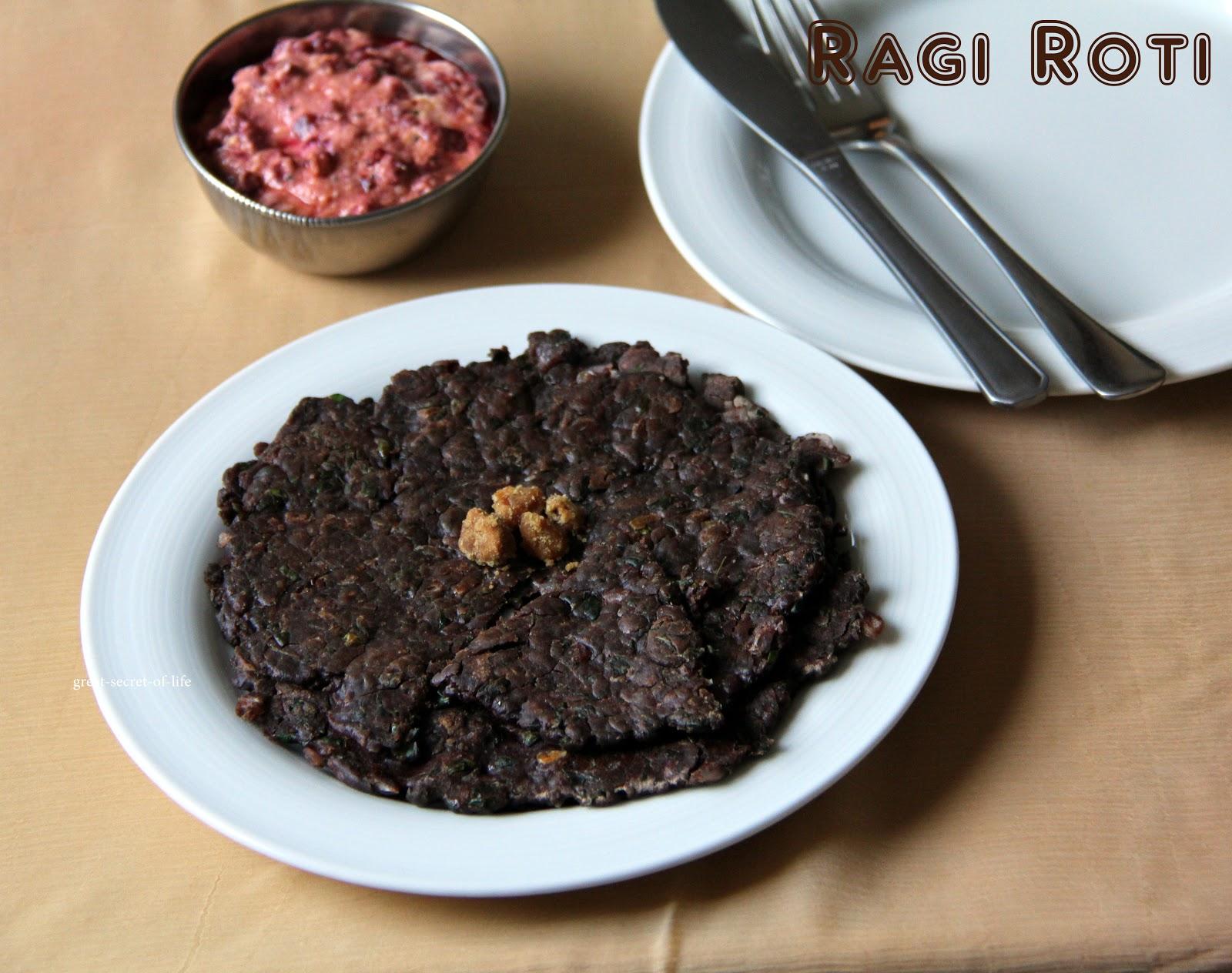 Drumstick Leaves Ragi Roti - Great Secret Of Life - Tasty Recipes