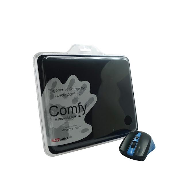 "Portronics Launches ""Comfy"": A Memory Foam Mattress Mousepad"