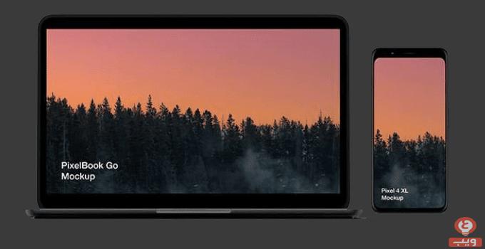 ملف مفتوح لأجهزة Pixel 4 و Pixelbook Go