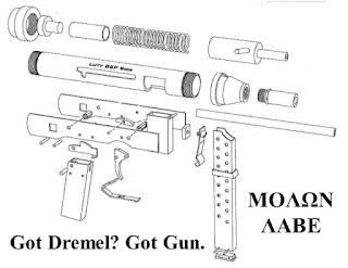 Todo Armas Latinoamerica: ARMAS CASERAS: BSP 9 DIY SMG La