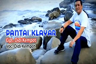 Lirik Lagu Pantai Klayar  Didi Kempot Lorok™