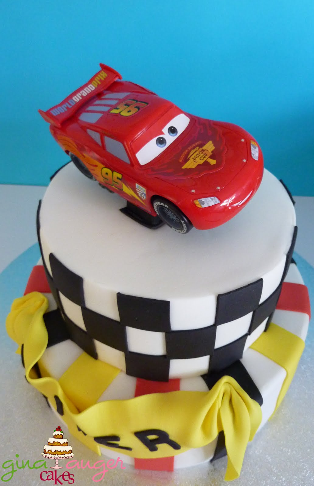 Top That Cars 2 Inspired Birthday Cake