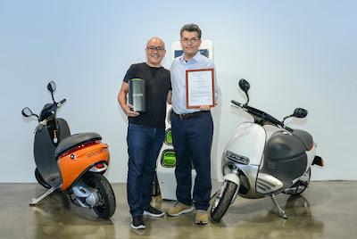 全球第一!Gogoro獲電動機車用電池UL 2271認證