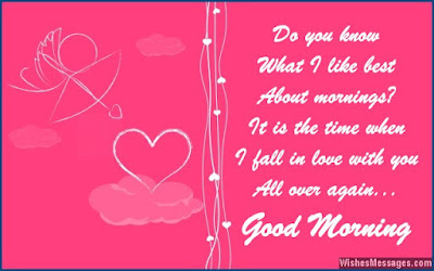 do you know what i like best about morning?