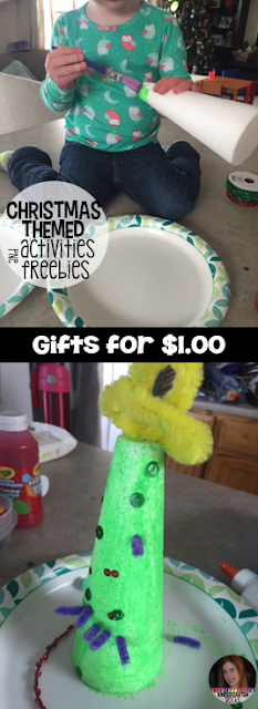 Christmas Freebie for Preschool are two fun activities that you can do with your child or preschool students.