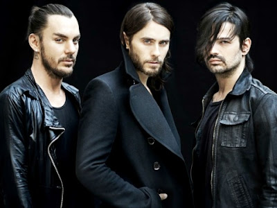 Foto de 30 Seconds To Mars de negro