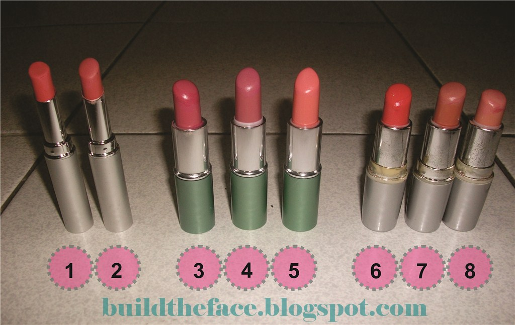 Build The Face WARDAH LIPSTICK COLLECTIONS PART 1
