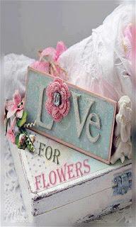 Flores tejidas sobre una caja fondos wallpaper para teléfono móvil resolución 480x800