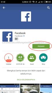 Cara Membuat Facebook pada Hp Android samsung