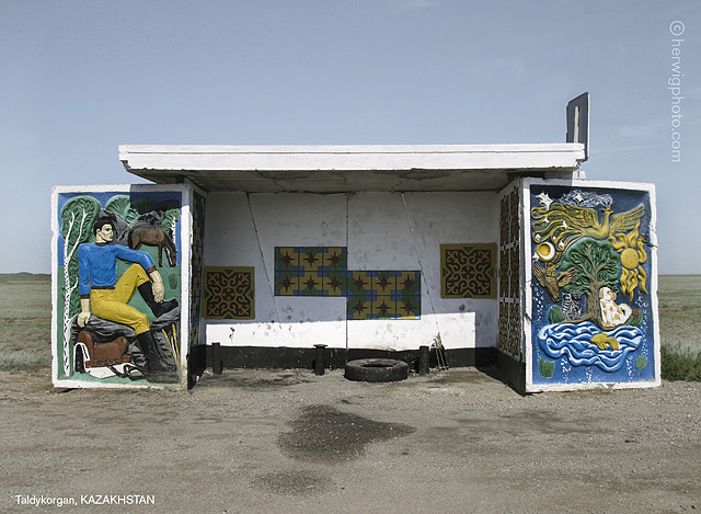 Soviet Bus Stops 2015 Photographer Christopher Herwigs Images