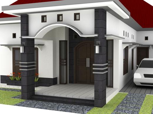 Desain Taman Minimalis Dan Teras Rumah